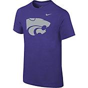 Nike Youth Kansas State Wildcats Purple Logo T-Shirt