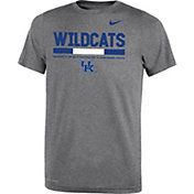 Nike Youth Kentucky Wildcats Grey Football Staff Legend T-Shirt
