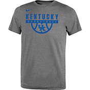 Nike Youth Kentucky Wildcats Grey Basketball Legend T-Shirt