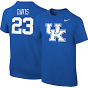 Nike Youth Kentucky Wildcats Anthony Davis #23 Blue College Alumni T-Shirt
