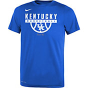 Nike Youth Kentucky Wildcats Blue Basketball Legend T-Shirt