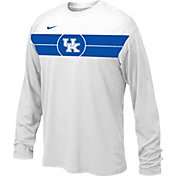 Nike Youth Kentucky Wildcats Basketball Legend White Long Sleeve T-Shirt