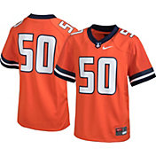 Nike Youth Illinois Fighting Illini #50 Orange Game Football Jersey