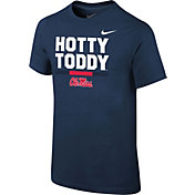 Nike Youth Ole Miss Rebels Blue Local Verbiage T-Shirt