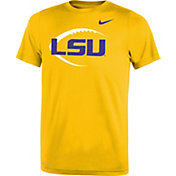 Nike Youth LSU Tigers Gold Football Icon Legend T-Shirt