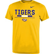 Nike Youth LSU Tigers Gold Football Staff Legend T-Shirt