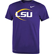 Nike Youth LSU Tigers Purple Football Icon Legend T-Shirt