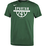 Nike Youth Michigan State Spartans Green Basketball Legend T-Shirt