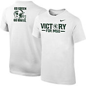 Nike Youth Michigan State Spartans White 'Victory for MSU' 2017 Fan T-Shirt