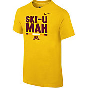Nike Youth Minnesota Golden Gophers Gold Local Verbiage T-Shirt