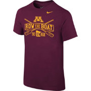 Nike Youth Minnesota Golden Gophers Maroon 'Row the Boat' Football Mantra T-Shirt