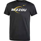 Nike Youth Missouri Tigers Football Icon Legend Black T-Shirt