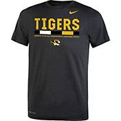 Nike Youth Missouri Tigers Football Staff Legend Black T-Shirt