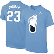 Jordan Youth North Carolina Tar Heels Michael Jordan #23 Carolina Blue College Alumni T-Shirt