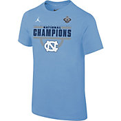 Jordan Youth North Carolina Tar Heels 2017 NCAA Men's Basketball National Champions Celebration T-Shirt