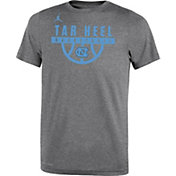 Jordan Youth North Carolina Tar Heels Grey Basketball Legend T-Shirt