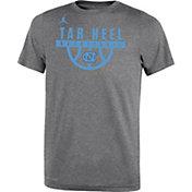 Jordan Youth North Carolina Tar Heels Grey Basketball Legend T-Shirt