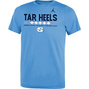 Jordan Youth North Carolina Tar Heels Carolina Blue Football Staff Legend T-Shirt