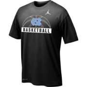 Jordan Youth North Carolina Tar Heels Carolina Legend Basketball Black T-Shirt