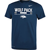 Nike Youth Nevada Wolf Pack Red Football Staff Legend T-Shirt