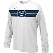 Nike Youth Villanova Wildcats Basketball Legend White Long Sleeve T-Shirt
