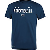 Nike Youth Penn State Nittany Lions Blue FootbALL Sideline Legend T-Shirt