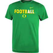 Nike Youth Oregon Ducks Apple Green FootbALL Sideline Legend T-Shirt