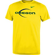 Nike Youth Oregon Ducks Yellow Football Icon Legend T-Shirt