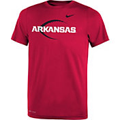 Nike Youth Arkansas Razorbacks Cardinal Football Icon Legend T-Shirt