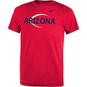 Nike Youth Arizona Wildcats Cardinal Football Icon Legend T-Shirt
