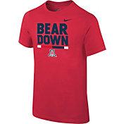 Nike Youth Arizona Wildcats Cardinal Local Verbiage T-Shirt