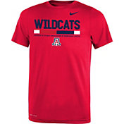 Nike Youth Arizona Wildcats Cardinal Football Staff Legend T-Shirt