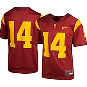 Nike Youth USC Trojans #14 Cardinal Game Football Jersey