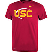 Nike Youth USC Trojans Cardinal Football Icon Legend T-Shirt