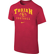 Nike Youth USC Trojans Cardinal 1997 Retro Football T- Shirt