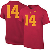 Nike Youth USC Trojans Cardinal #14 Football T-Shirt