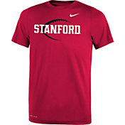 Nike Youth Stanford Cardinal Football Icon Legend Cardinal T-Shirt
