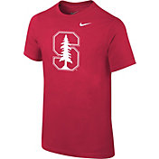 Nike Youth Stanford Cardinal Logo Cardinal T-Shirt