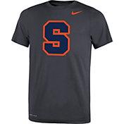 Nike Youth Syracuse Orange Anthracite Travel Football Legend T-Shirt
