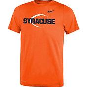 Nike Youth Syracuse Orange Football Icon Legend Orange T-Shirt