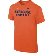 Nike Youth Syracuse Orange Football Sideline Facility Orange T-Shirt