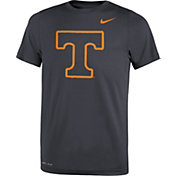 Nike Youth Tennessee Volunteers Anthracite Travel Football Legend T-Shirt