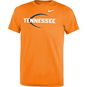 Nike Youth Tennessee Volunteers Tennessee Orange Football Icon Legend T-Shirt