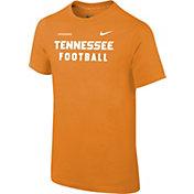 Nike Youth Tennessee Volunteers Tennessee Orange Football Sideline Facility T-Shirt