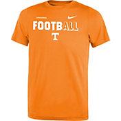Nike Youth Tennessee Volunteers Tennessee Orange FootbALL Sideline Legend T-Shirt