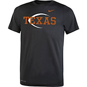 Nike Youth Texas Longhorns Football Icon Legend Black T-Shirt