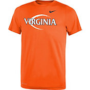 Nike Youth Virginia Cavaliers Orange Football Icon Legend T-Shirt