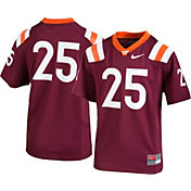 Nike Youth Virginia Tech Hokies #25 Maroon Game Football Jersey