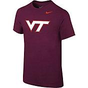 Nike Youth Virginia Tech Hokies Maroon Logo T-Shirt