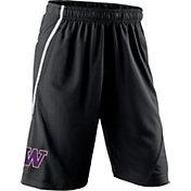 Nike Youth Washington Huskies Black Fly XL 5.0 Football Sideline Shorts